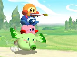 Kirby (GCN/Wii)... Kirby Spiele