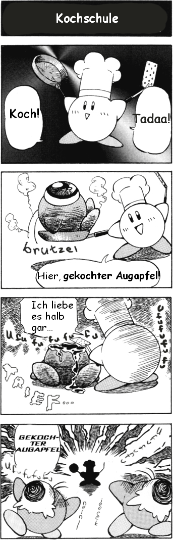 Kochschule comic  Französische Küche Froschschenkel | ambiznes.com