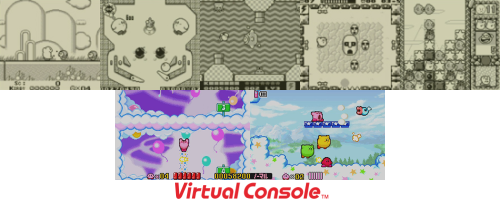 Kirby-Game-Boy-Spiele auf Virtual Console