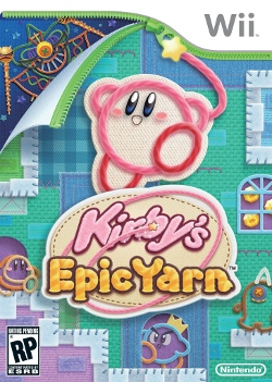 Kirby's Epic Yarn (US-Cover)